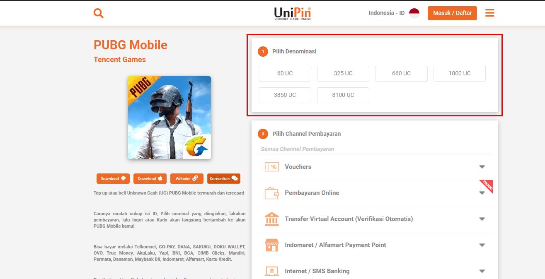 Cara Pembelian Kode Voucher Pubg Mobile Customer Support